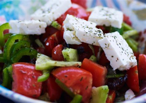 greek salads greek salad recipe dishmaps