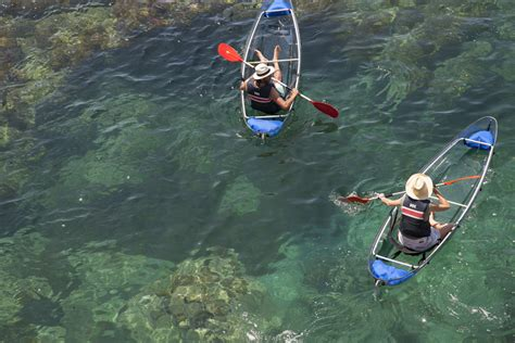 clear kayak totally transparent 14 see through homes cars gadgets
