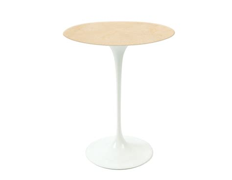 Saarinen Side Table Saarinen Side Table Empire Beige Marble Hivemodern