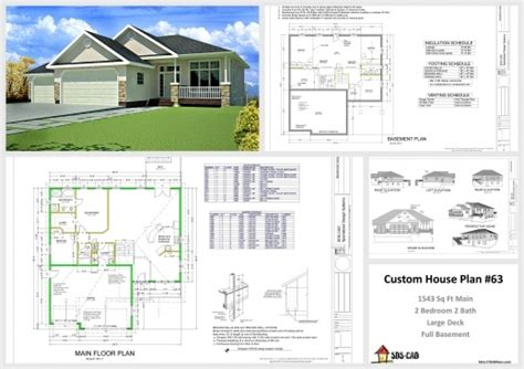 house plan section and elevation a complete house plan with it elevation house floor plans