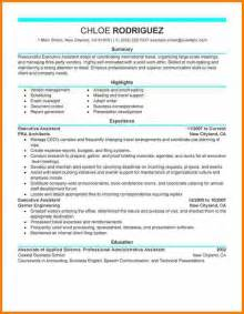 7 executive administrative assistant resume resume