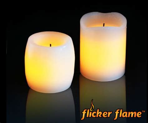 candele elettroniche set candele elettroniche flicker flame in cera 7 99