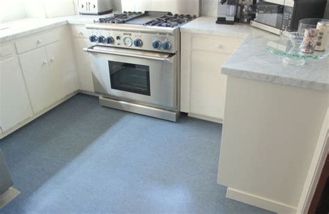 Kitchens With Grey Cabinets blue color marmoleum flooring contemporary kitchen