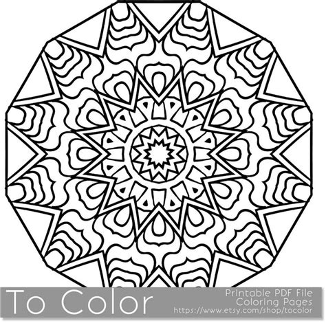 snowflakes coloring book books printable coloring pages for adults mandala snowflake