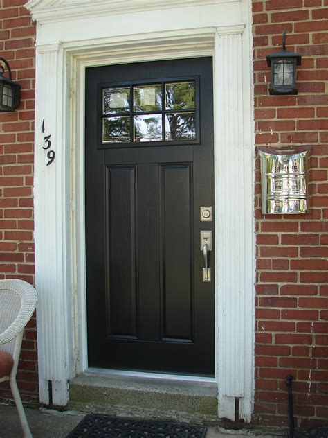 Craftsman Exterior Door Craftsman Door Painted Craftsman Door Hardware
