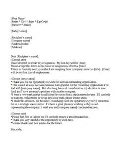 2 weeks notice letter template 9 two weeks notice letter exles free premium templates