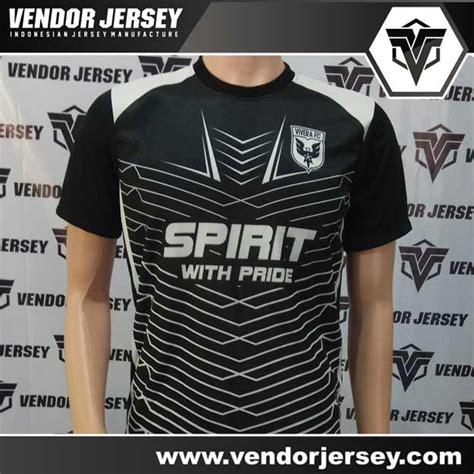 desain baju futsal hitam ping produksi pembuatan baju futsal warna hitam putih printing