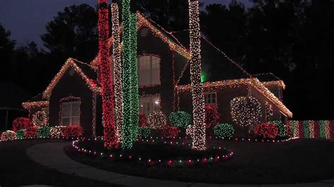 lake forest christmas lights 2011 youtube