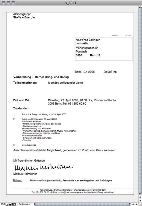 Schweiz Brief Datum Datenbar N 1