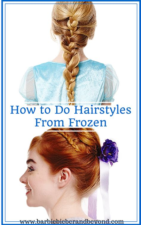 freeze braids hairstyles how to do hairstyles from frozen barbie bieber and beyond