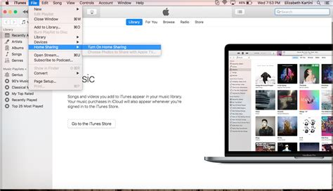 what is itunes home and how to use it