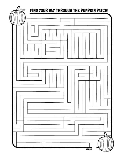 printable autumn maze 648 best images about fall thanksgiving on pinterest