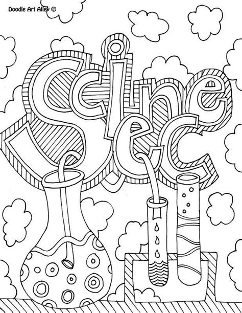Science Lab Coloring Pages - Coloring Home