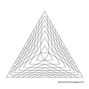 color pyramid geometry coloring page pyramid sacred geometry