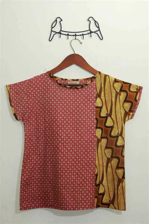 Sarimbit Batik Kemeja Dan Blouse Kupu blouse batik xl blouse with