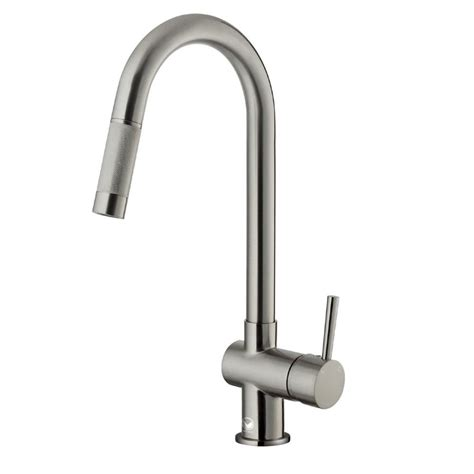 stainless steel kitchen faucet vigo stainless steel pull out kitchen faucet ebay