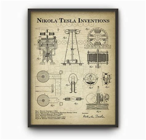 Nikola Tesla Inventions List 25 Best Ideas About Nikola Tesla Patents On