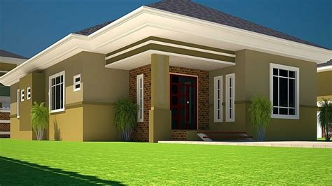 houses with 3 bedrooms house plan 4 bed rooms self contained
