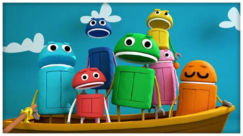 boat song please quot row your boat quot classic songs by storybots youtube
