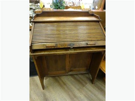 Lebus Roll Top Desk by Antique Oak Harris Lebus Roll Top Desk At The
