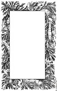 decorative borders decorative page border of lobsters and crayfish