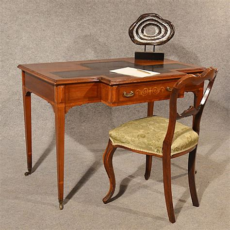 antique study table antique desk study library table leather top inlaid
