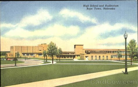 high school and auditorium boys town ne
