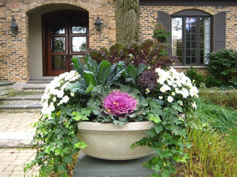 ideas   fall pots midwest home