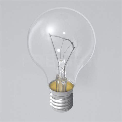 3d Light by Light Bulb 3d Model Max Obj Fbx