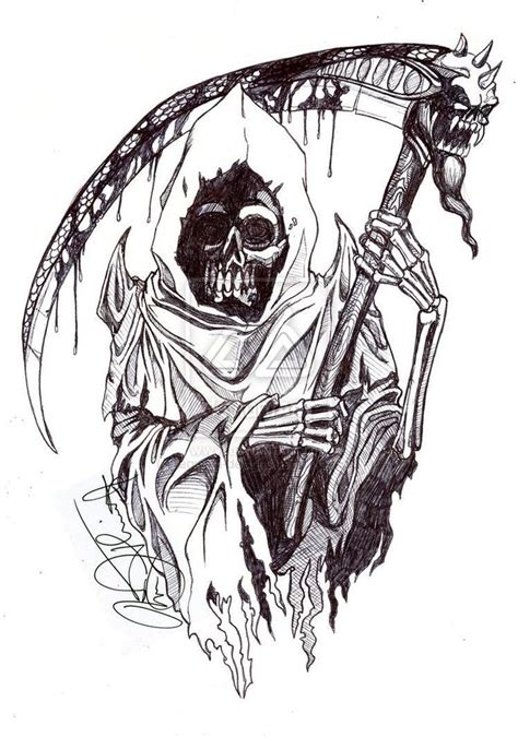 reaper tattoo design 12 best images about tattos on shoulder
