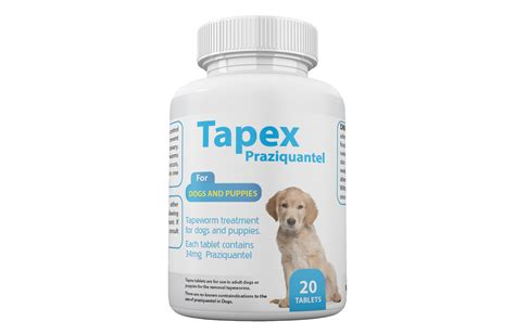 praziquantel for dogs 20 tapex praziquantel tablets for dogs and puppies puppy pet supply