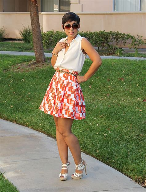 mimi g style diy pleated skirt pattern review m6706