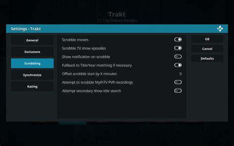 kodi display new episodes kodi scrobbler sync plugin how to setup trakt with elysium
