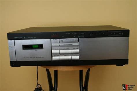 nakamichi lx 3 cassette deck nakamichi lx 3 2 cassette deck photo 184670 canuck