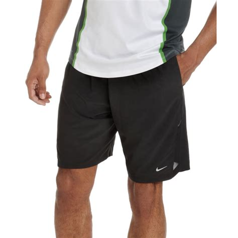nike 9 stretch woven running shorts in black for lyst