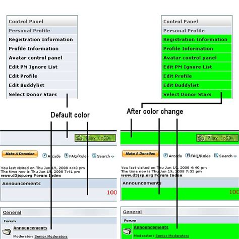 Change Table Color Change Table Border Color How To Change Table Border Color
