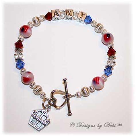 Custom Kia Bracelets Custom Memorial Bracelet 171 Bracelets Jewelry