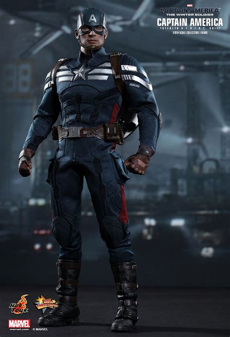 Kaos Captain America Stealth Suit Winter Soldier captain america stealth strike suit winter soldier 1 6