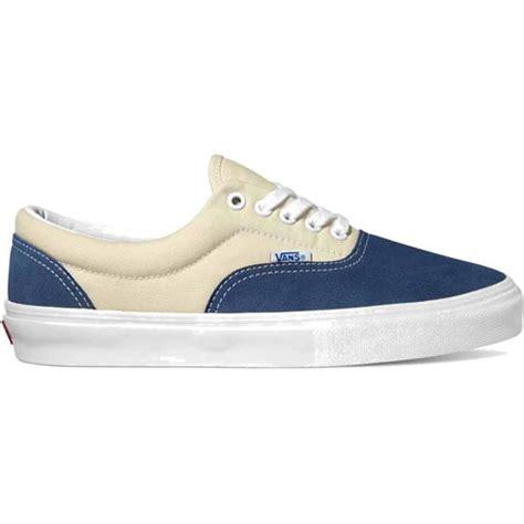vans shoes era pro blue white