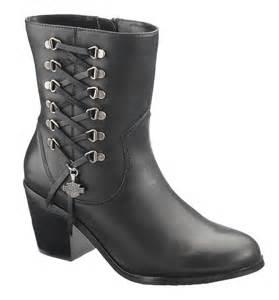 84439 harley davidson 174 womens alanis black low cut boot