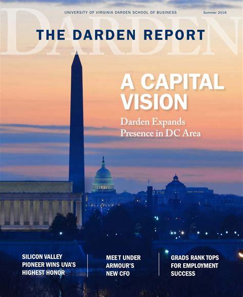 Darden Mba Employment Report by Darden Report Summer 2016 By Darden School Of Business Issuu