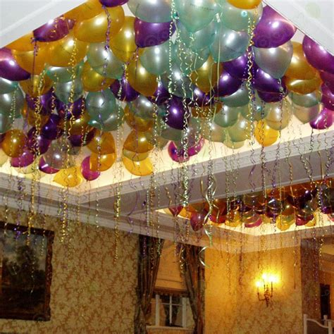 Helium balloon ceiling fill
