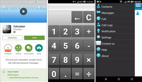 calculator hide app top 5 apps to hide messages on android beebom