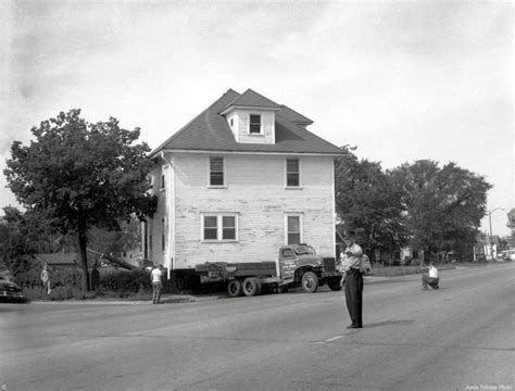 house mover house moved from lincoln way ames historical society