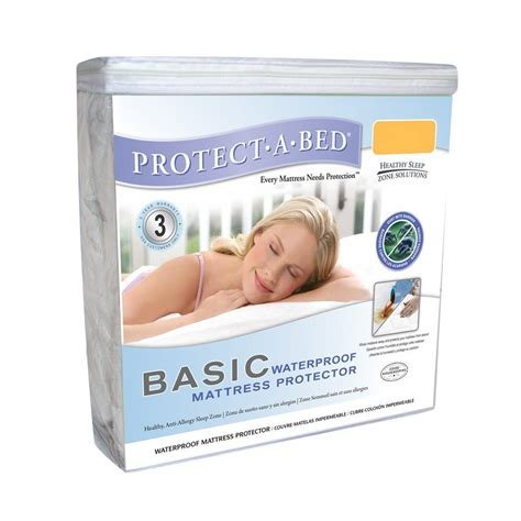 Xl Waterproof Mattress Protector by Protect A Bed 174 Basic Breathable Fitted Waterproof Mattress