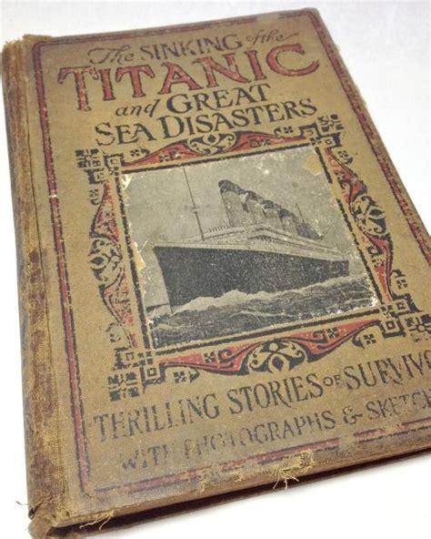 Waverley Novels Library Ed antique titanic book titanic book vintage great sea