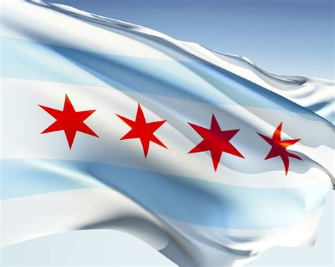 chicago s flag is a much bigger deal than any other city s