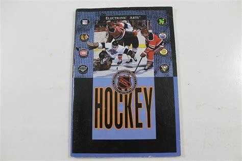 sega genesis hockey manual nhl hockey sega genesis