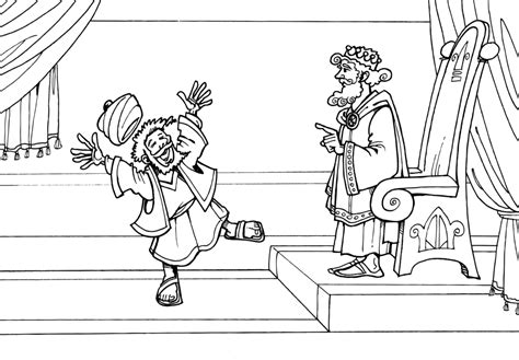 coloring page for the unforgiving servant unforgiving servant bible coloring page coloring pages