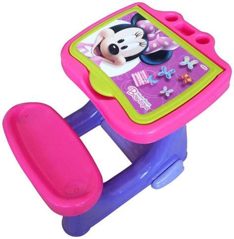 bureau plastique enfant d arp 232 je bureau d activit 233 avec set de coloriage minnie